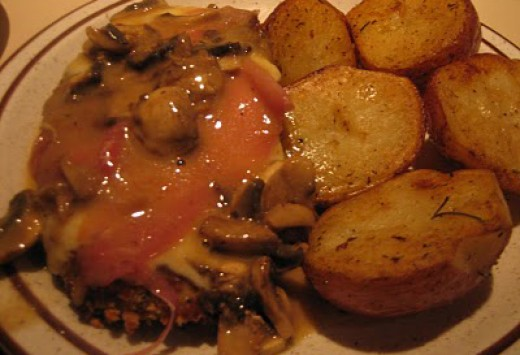 Ricado's Italian Restaurant: Chicken Saltimbocca