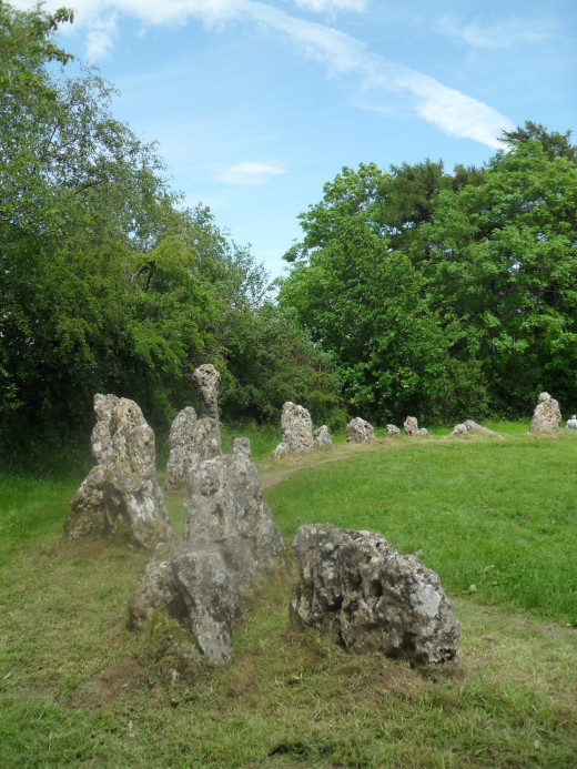 Another view of the the King's Men (Rollright Stones)