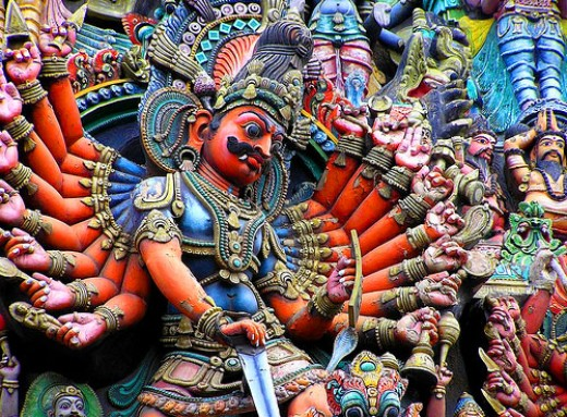 Ravana the Demon God