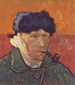 Self-portrait by Vincent van Gogh  1889