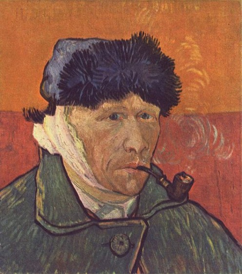 Self-portrait by Vincent van Gogh  1889