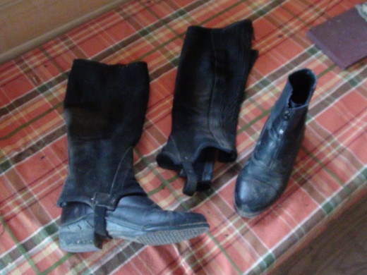 Paddock Boots with Half Chaps