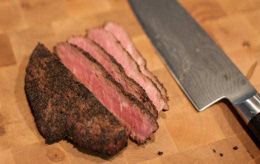 Flat Iron Steak-OMG, sooo good!