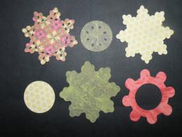 Flower layers cutout