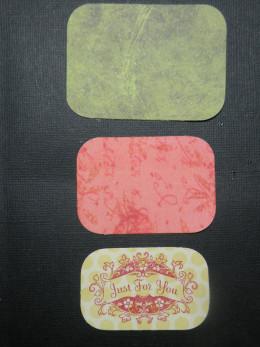 Rectangles cutout
