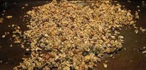 Peanut Butter and Chia Seed Granola