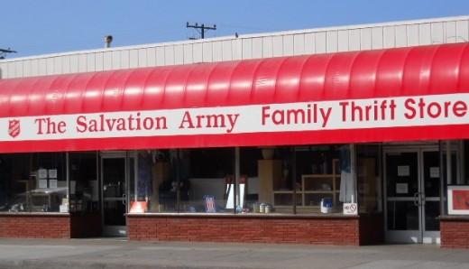 Salvation Army Thrift Store, Santa Monica. CA