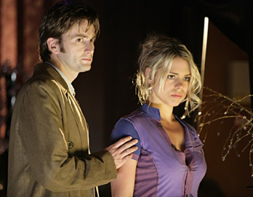 The Doctor and his Companion Rose Tyler