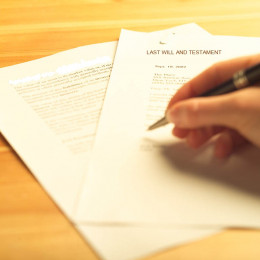 How to make a will is something everyone should know how to do.