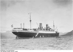 """Grainy Photograph of """"General von Steuben"""" 1923 -1945"""