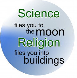 What is really About Religion and Science