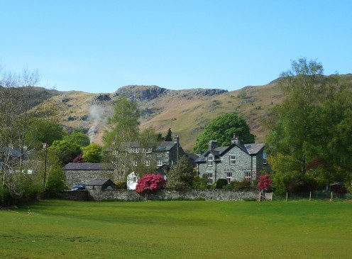 The village of Elterwater