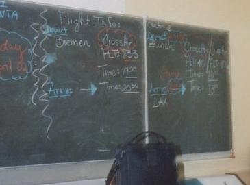 Organize your blackboard!