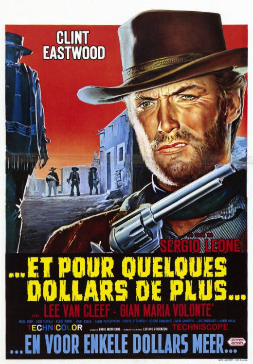 For a Few Dollars More (1965) French poster