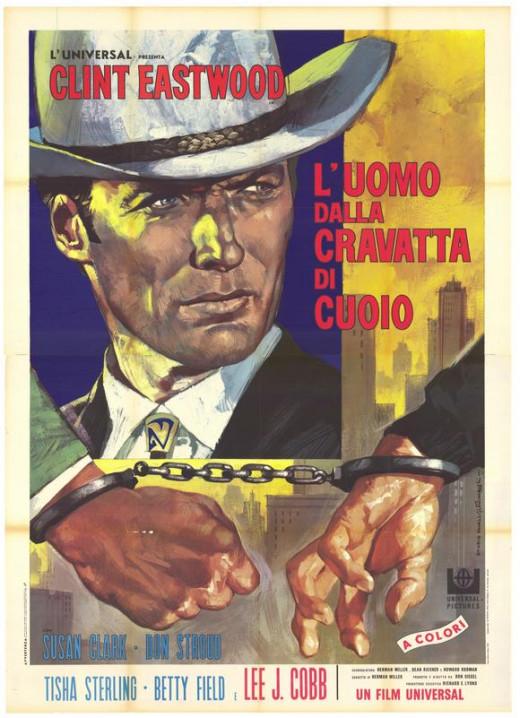 Coogan's Bluff (1968) Italian poster
