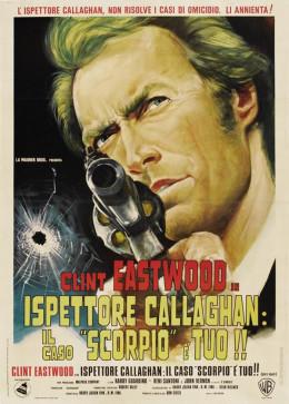 Dirty Harry (1971) Italian poster