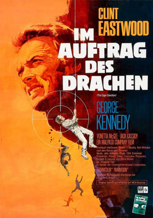 The Eiger Sanction (1975) German poster
