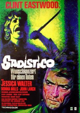 Play Misty for Me (1971) German poster