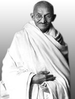 Gandhiji who was the source of the word and meaning of AHIMSA