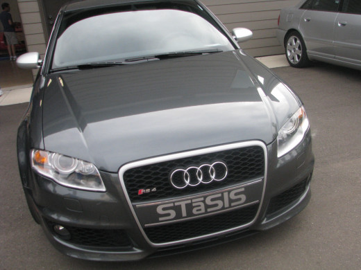 Audi RS4 (VERY fast sports sedan based on the A4)