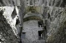 Upstairs at Carrigafoyle Castle