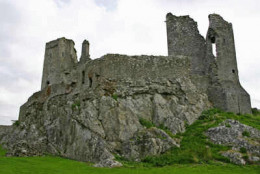 Desmond castle in Askeaton, Co. Limerick