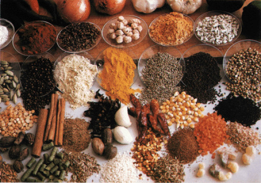 Beautiful collection of Herbs and Spices