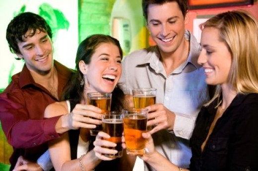 While everything might seem merry when you step into a pub or a bar with your work mates, a slight misunderstanding could send your career into a downward spiral.