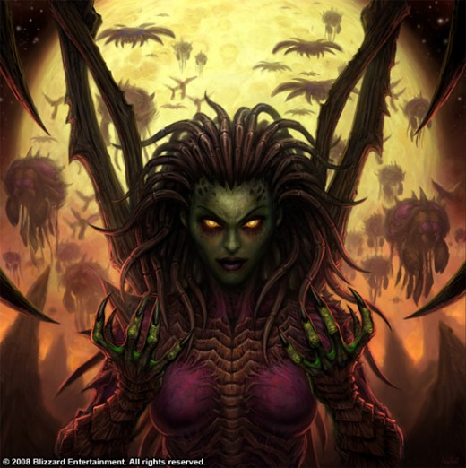 The Queen of Blades Sarah Kerrigan