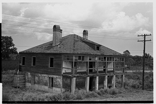 Destrehan Plantation before renovation