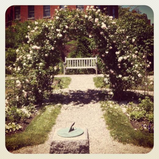Ropes Mansion Garden