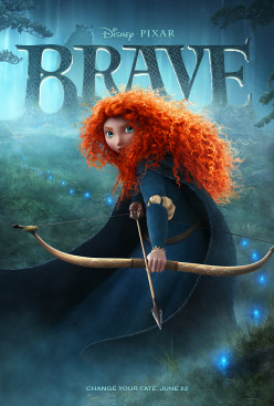 Pixar's Brave is quite enjoyable though with a rather basic story