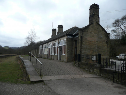 Old Railway Station Millers Dale