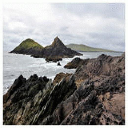Slea Head, Dingle Peninsula, Co Kerry, Ireland.