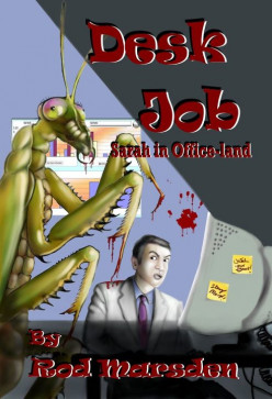 Desk Job by Rod Marsden. Monstrous humans in the office rather than at sea.