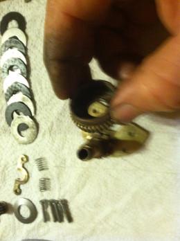 Install drive gear