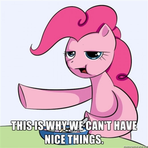 Cereal Guy why we can't have nice things PONIFIED.