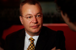 Stephen Elop - Nokia's current CEO, whose decisions have lead the company into this unpleasant situation