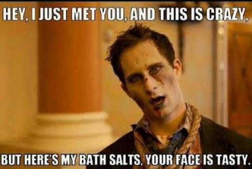 Bath Salts and Zombie: What is the meaningful connection?