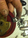 Right side Harnes Lug (Install before placing inside trim ring in place)