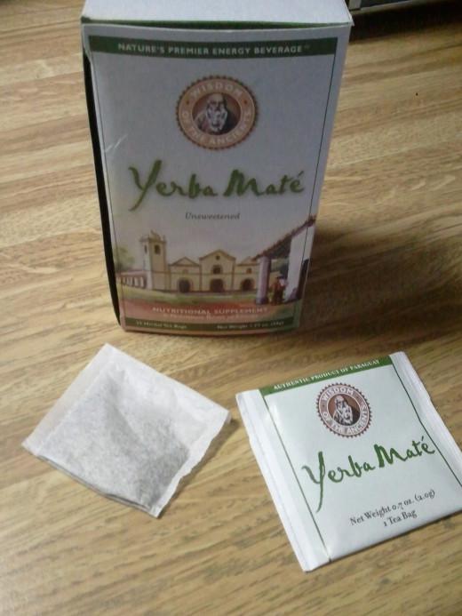 Yerba mate teabags