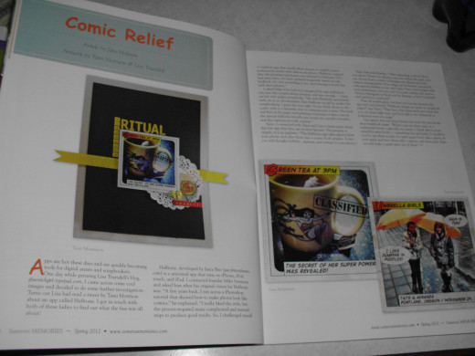 Comic Relief section