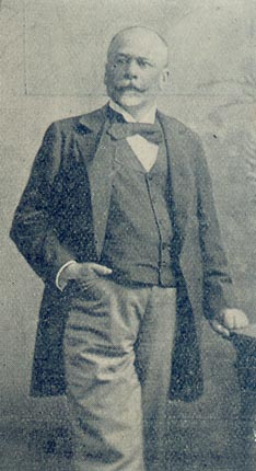 Don Francisco Piria around 1900.