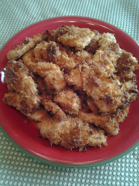 Baked Crusted Chicken