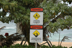 Beach Signs and Safety in Hawaii