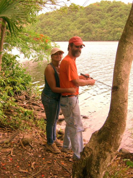 Fishing is sharing