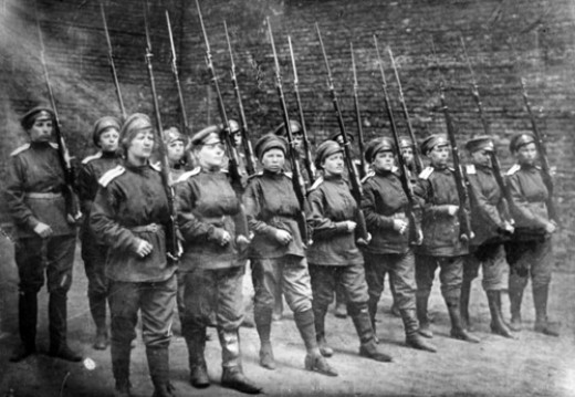 Yashka or Maria Botchkareva and her women battalion of death