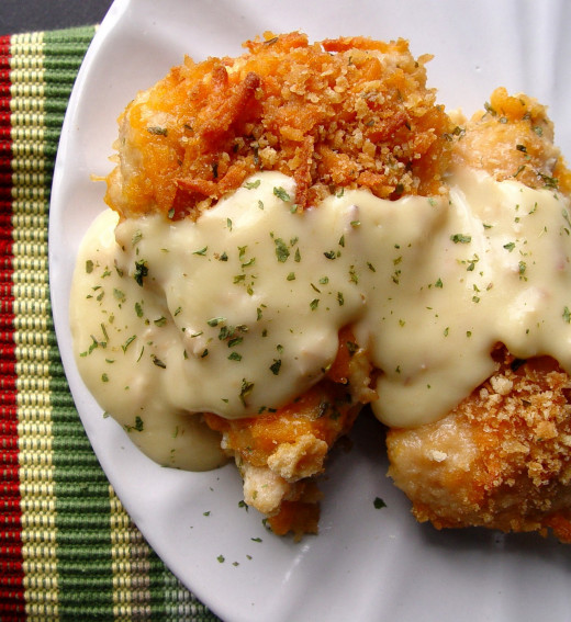 Crispy Cheesy chicken