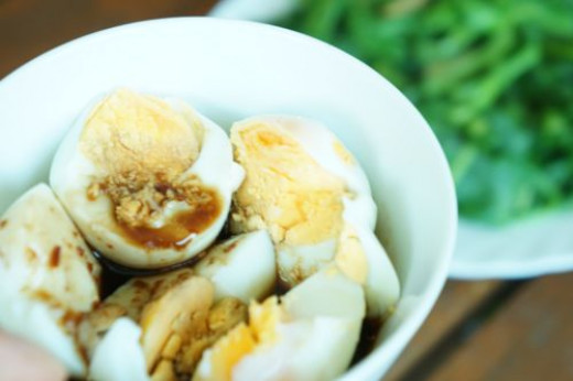 you could also boiled it and serve with the dipping sauce of egg mixed in soy sauce