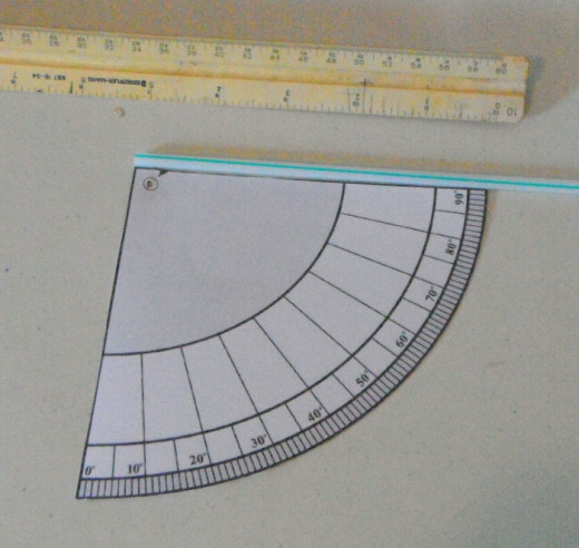 Measure the straw and cut it to length